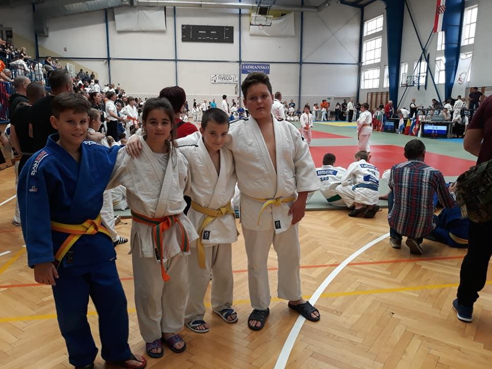 Nikola Diklić, Teodora Baćić, Nikola Marić i David Perković